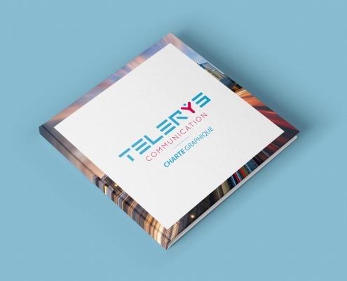 super charte graphique cover telerys communication