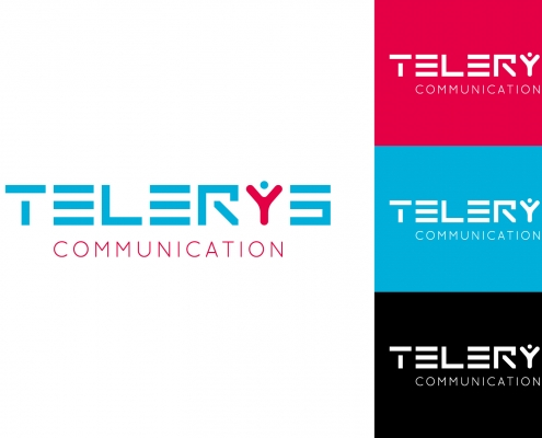 super logo declinaisons telerys communication