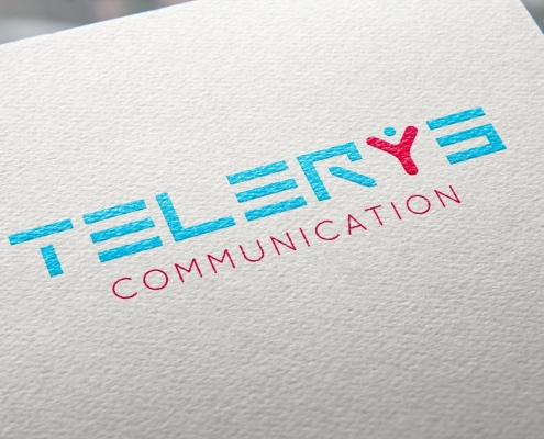 super logo telerys communication