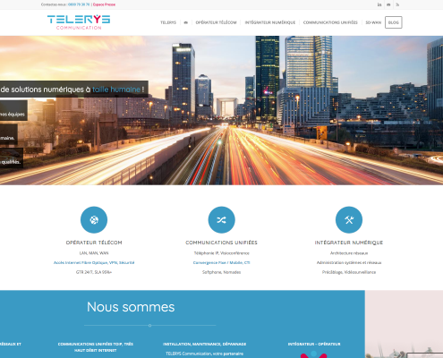 super site homepage telerys communication 1